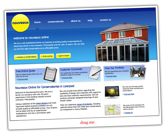 Promotional Homepage